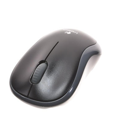 Logitech Wireless M185 šedá